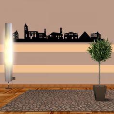 Fürth ist eine kreisfreie Großstadt im bayrischen Regierungsbezirk Mittelfranken. Durch die vielen Persönlichkeiten von damals macht sich die Stadt einen sehr großen Namen. #Fürth #Skyline #Wadeco // http://www.wadeco.de/fuerth-skyline-wandtattoo.html