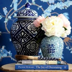 A few of my favourite things including my new blue and white calligraphy brush from Hamptons House, The Hamptons, Timber House, Blue And White China, White Rooms, Ginger Jars, White Decor, Decorating Blogs, Chinoiserie