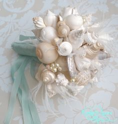 Sea Shells Bouquet Click the pin for more!
