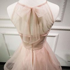 2017 Homecoming Dress Halter Pearl Pink Short Prom Dress Party Dress JK099