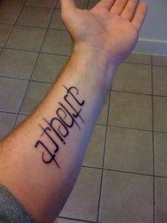 Atheist tattoo #tattoo #tattoos #bodyart