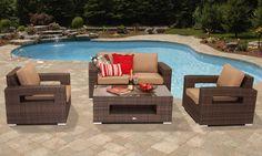Sunbrella Patio Furniture Covers - Home Furniture Design Polywood Outdoor Furniture, Outdoor Furniture Design, Patio Furniture Covers, Wicker Patio Furniture, Pool Furniture, Patio Chairs, Outdoor Chairs, Rattan Sofa, Modern Furniture