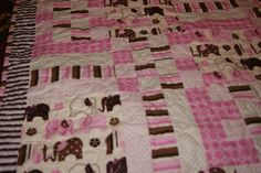 Baby Girl Quilt...@Mallory, whenever you're ready ;) All my other friends are getting pregnant! lol JK