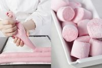 Tip: How to make delicious Marshmallows ? Köstliche Desserts, Dessert Recipes, Super Dieta, Marshmallows, Biscuits, Sweet Recipes, Sweet Treats, Food Porn, Food And Drink