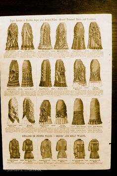 Mme Demorest's Illustrated Portfolio of the Fashions for 1880