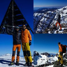 Yesterday @jesusblago and me climbing to the summit of the highest mountain in Morocco Toubkal East (4.167 meters). After we continued to Toubkal West (4.030 meters). There is nothing compared to climbing in good company. Now we will hit the road to the desert. Never stop!!