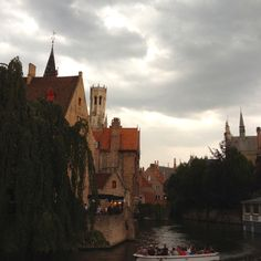A lovely shot of Brugge, Belgium sent to me from daddy this morning!  Love traveling through Europe!