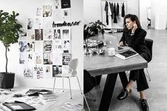 臨近新年來個徹底整理吧!參考這 7 位時尚 Blogger 的辦公空間,把小空間改造成簡約工作間!