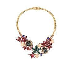 BETSEY AND THE SEA COLLAR: Betsey Johnson