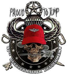 87th QM Det Airborne Army Shirt $17.76
