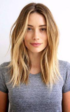 wavy shoulder length hair tumblr - Google Search