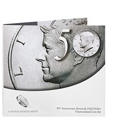 SOLD OUT 50th Anniversary Kennedy Half-Dollar Uncirculated Coin Set