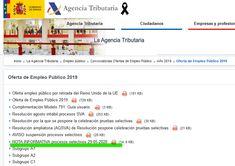 Convocatoria | Reanudación de los Plazos Administrativos – Agente de Hacienda Pública Thing 1, January 8, Summoning, News
