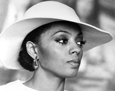 Diana Ross Mahogany 24x36 Poster fashion image in hat