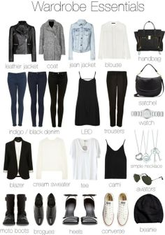 Eleanor's wardrobe essentials!