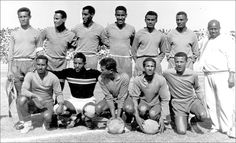 Ethiopian soccer legend Mengistu Worku who helped Ethiopia win the African Cup has passed away. Memorial service for him will be held on Friday in Addis Ababa at the St. Ethiopia Addis Ababa, History Of Ethiopia, Haile Selassie, National Football Teams, Historical Photos, Black Men, Champion, Nostalgia, Soccer