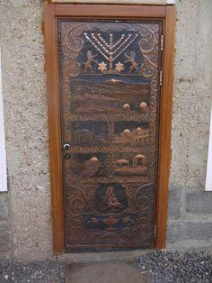 Israel Synagogue door, Teverya/ Tiberias