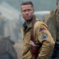 Brad Pitt regresa a la línea de fuego con 'Fury'.