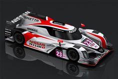 Nissan Lmp 3 ready for Le Mans
