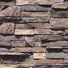 Coronado 12.5 Sq. Ft. Coastal Brown Ledgestone Veneer Flat