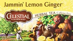Celestial Seasonings Jammin Lemon Ginger Herbal Tea 20 Count * Continue to the product at the image link. Note: It's an affiliate link to Amazon.