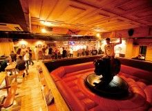 The Saloon. Mechanical Bull in Okinawa. fun and different. ladies night. places to go and see.