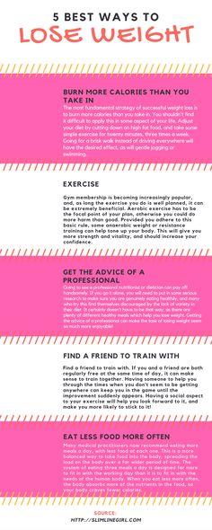 5 Best Ways To Lose Weight - http://slimlinegirl.com/5-best-ways-lose-weight-2/