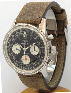 BREITLING Navitimer Chronograph with rough leather strap