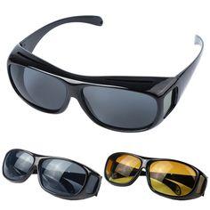 HD Nachtsicht Brille Gläser Sonnenbrille Männer/Frauen Nacht Fahren Sonnenbrille Uv-schutz Marke Designer