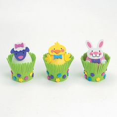 Easter Egg Decorations Craft Kit - OrientalTrading.com