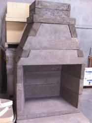 Forno Bravo Offers Many Modular Outdoor Fireplace Kits For Home Owners Who  Want The Custom Look Of A Brick Fireplace Without The High Cost