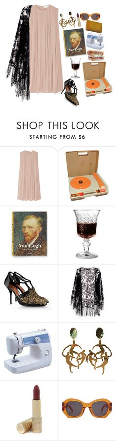 """Untitled #345"" by misguided-gh0st ❤ liked on Polyvore featuring CO, Fisher Price, La Rochère, Alberta Ferretti, Pussycat, Estée Lauder, DK and Karen Walker"