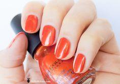 sinful colors - courtney orange #nailpolish