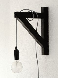 Monochrome Wall Light