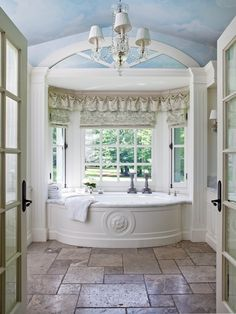 Can you imagine? What an amazing bathroom!