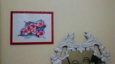 """""""Fiori rosa fiori di pesco"""" Watercolors Winsor & Newton su  cartoncino Winsor & Newton"""