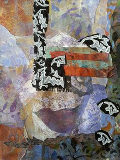 Wren in doubt, put a bird on it. Printed paper collage bu Julie Eiselt