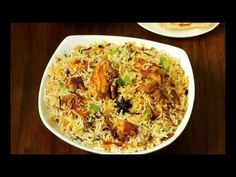 Hyderabadi chicken biryani recipe, the most delicious & flavorful dum chicken hyderabadi biryani any one can make using this recipe with step by step photos Chicken Biryani Recipe Hyderabadi, Chicken Dum Biryani Recipe, Hyderabadi Cuisine, Rice Recipes, Indian Food Recipes, Chicken Recipes, Cooking Recipes, Ethnic Recipes, Curry Recipes