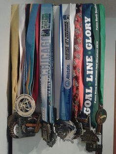 my race medals
