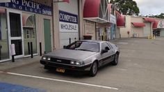 DMCEV Electric Delorean Australia Test Drive