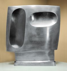 Alberto Giacometti (1901-1966), Head, 1957. Stainless steel, 15-3/8 inches high.