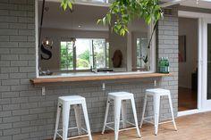 HOUSE ONE — THREE BIRDS RENOVATIONS Exterior Paint Colors, Exterior House Colors, Dulux Paint, Three Birds Renovations, Timber Deck, House Painting, Beautiful Homes, New Homes, Interior