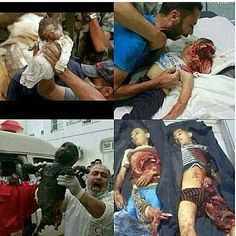 israel is killing innocent Palestinians in gaza! This is not war it's genocide!! Stop osrael and Free Palestine! Make dua!