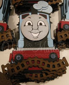Thomas the train handmade by odette