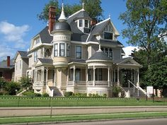 The Pillow-Thompson House in Helena, Arkansas. This Queen Anne mansion was built in 1896.