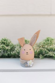 Little bunny easter egg