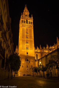 The architecture of Seville Cathedral
