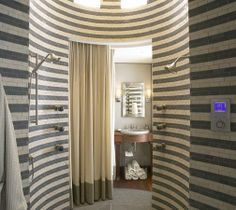 Stripe shower