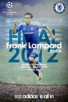 Frank Lampard Champions League Final 2012