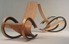 46 Elegant Furniture Design Ideas Best For Springtime Plywood Furniture, Unique Furniture, Furniture Projects, Furniture Design, Leather Recliner Chair, Office Chair Without Wheels, Swinging Chair, Diy Chair, Cool Chairs